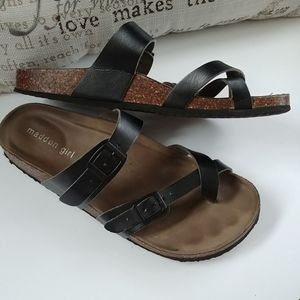 Madden Girl Leather Sandals 7.5M